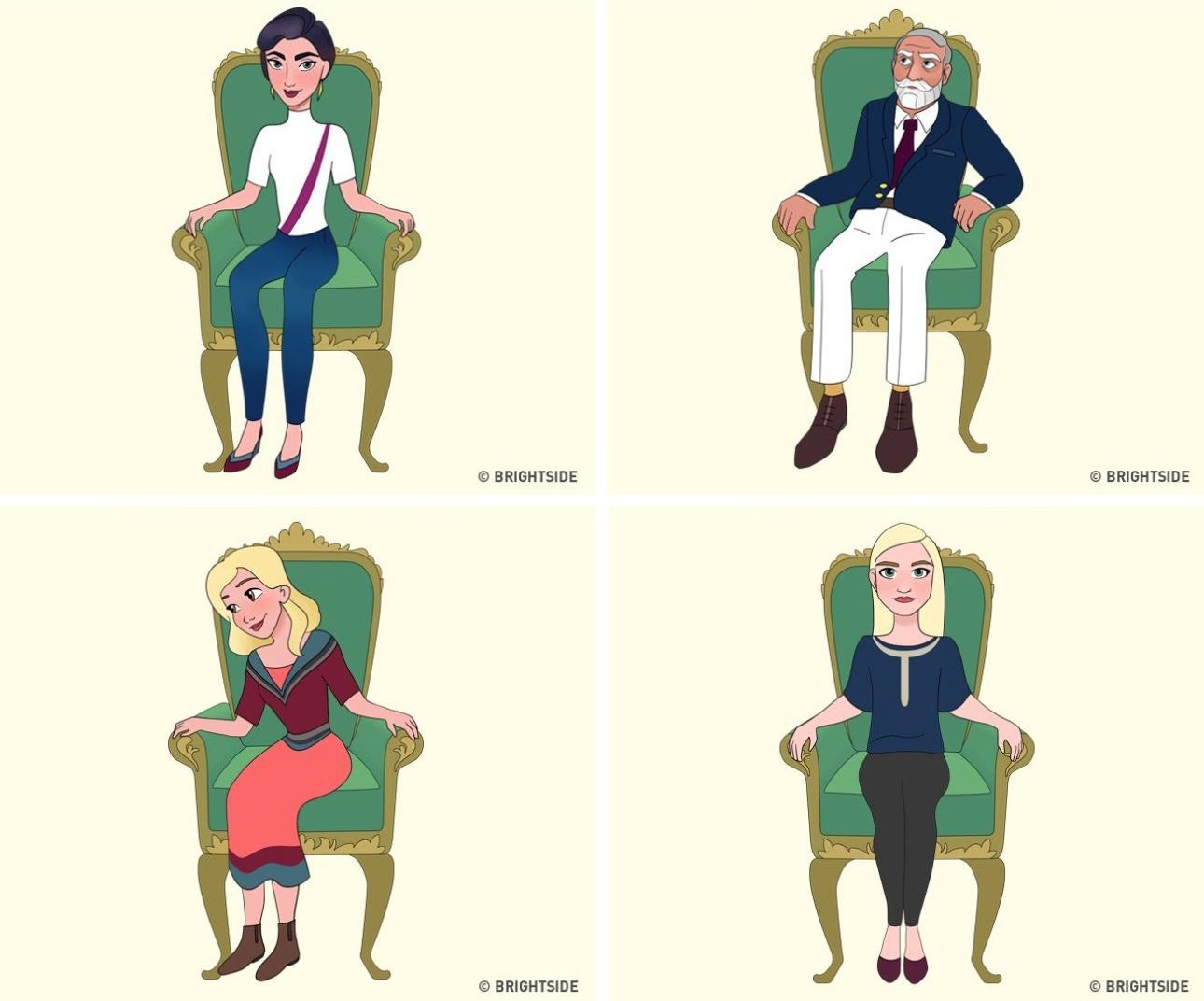 Cách bạn ngồi lên chiếc ghế này sẽ cho biết con người thực sự của bạn như thế nào - Ảnh 1.