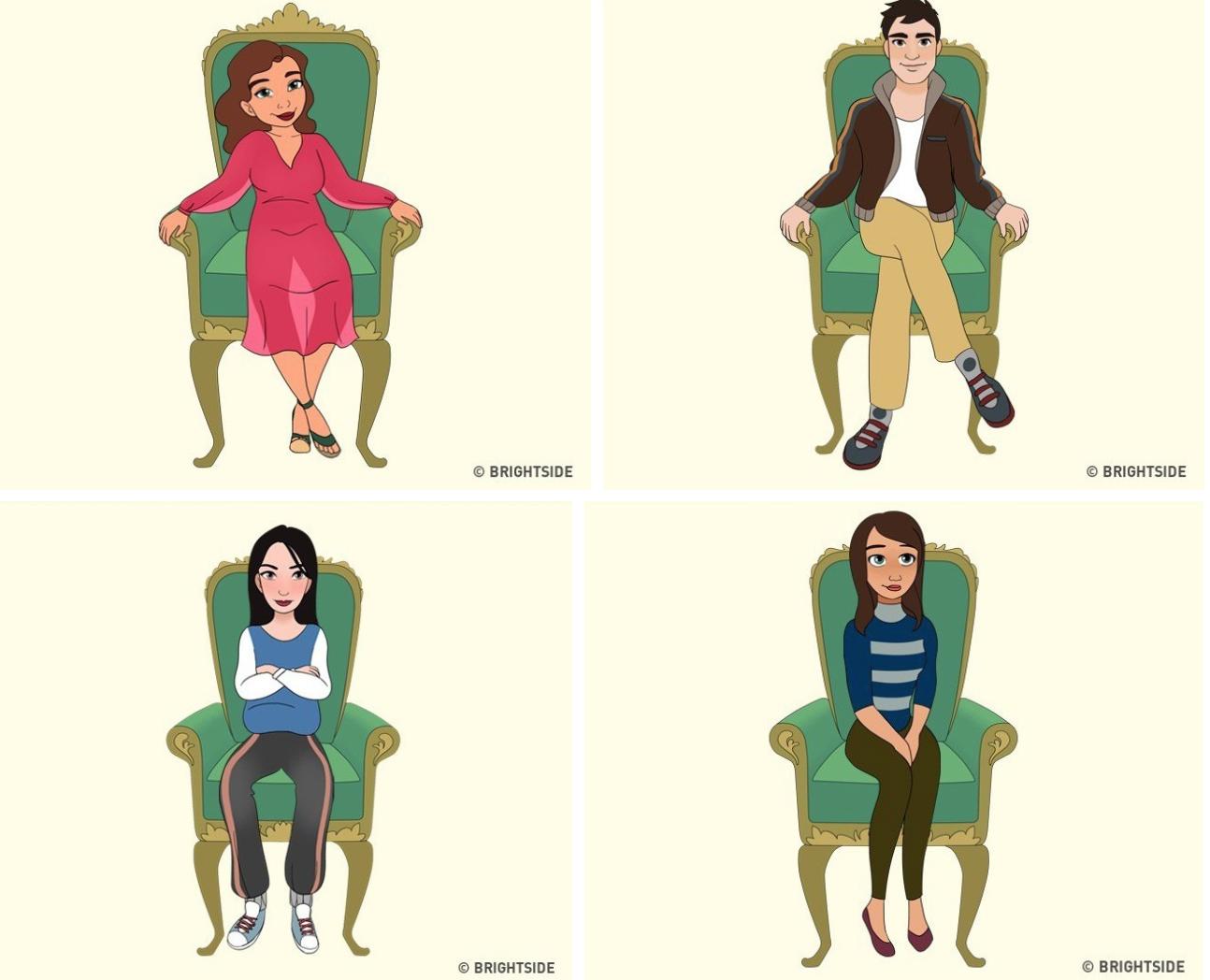 Cách bạn ngồi lên chiếc ghế này sẽ cho biết con người thực sự của bạn như thế nào - Ảnh 2.