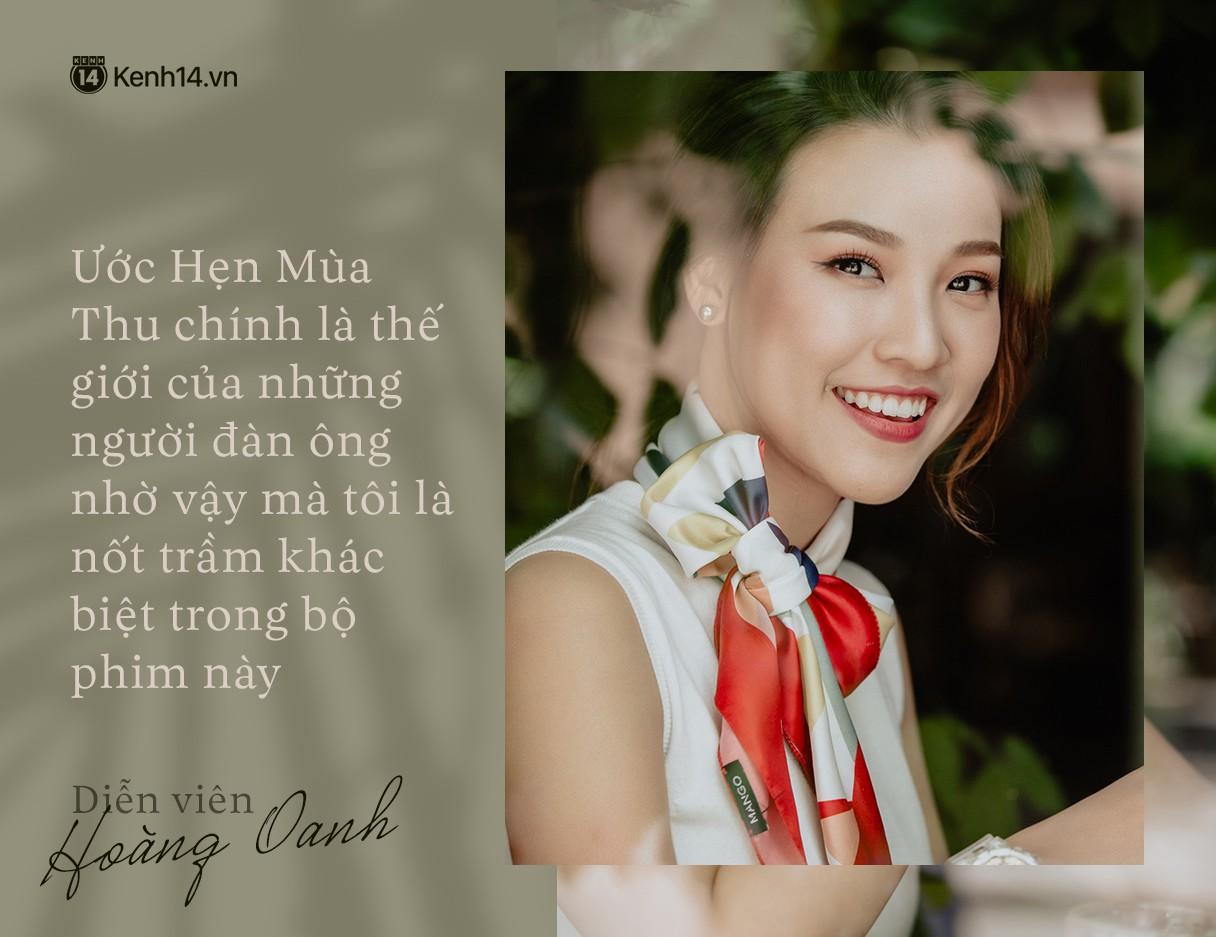 Hoàng Oanh: Năm 18 tuổi từng bỏ vai có cảnh nóng của anh Victor Vũ để giữ lấy tình yêu - Ảnh 1.