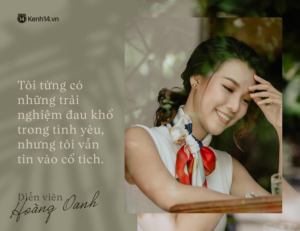 Hoàng Oanh: Năm 18 tuổi từng bỏ vai có cảnh nóng của anh Victor Vũ để giữ lấy tình yêu - Ảnh 9.