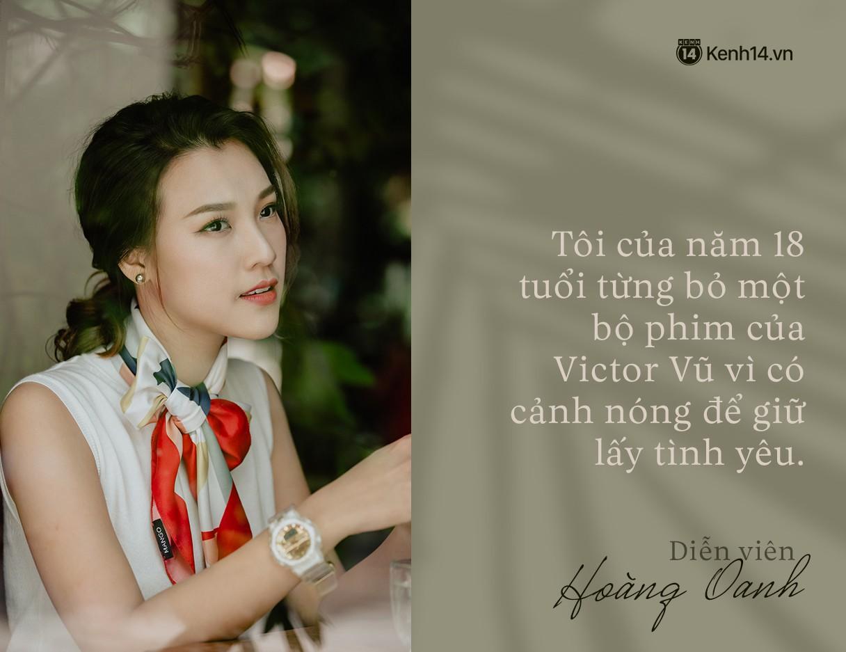Hoàng Oanh: Năm 18 tuổi từng bỏ vai có cảnh nóng của anh Victor Vũ để giữ lấy tình yêu - Ảnh 10.