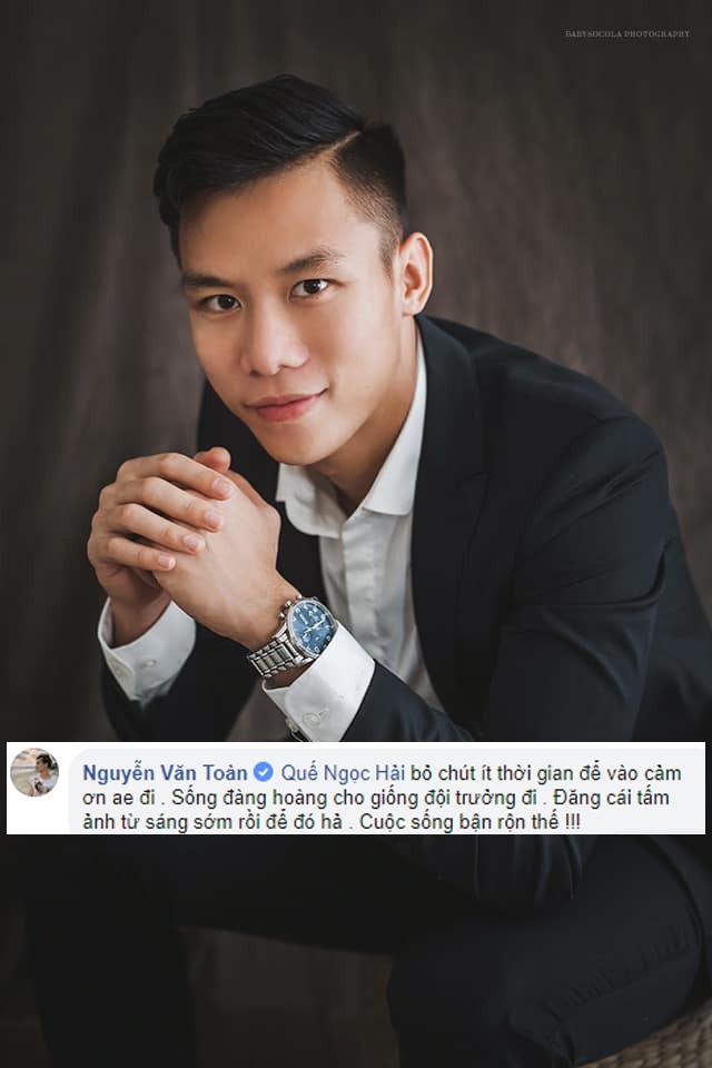 Quế Ngọc Hải kêu gọi tẩy chay fanpage giả, Xuân Trường, Đức Huy rủ nhau report luôn tài khoản chính chủ - Ảnh 2.