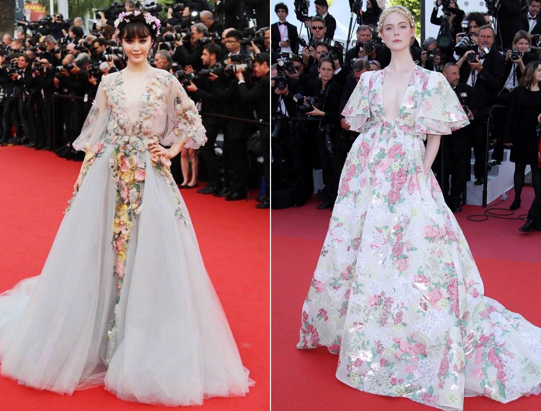 """Elle Fanning thành tiên nữ đẹp hơn hoa tại Cannes, nhưng netizen xứ Trung lại chỉ nhớ đến """"hoa tiên tử"""" Phạm Băng Băng ngày nào - Ảnh 10."""