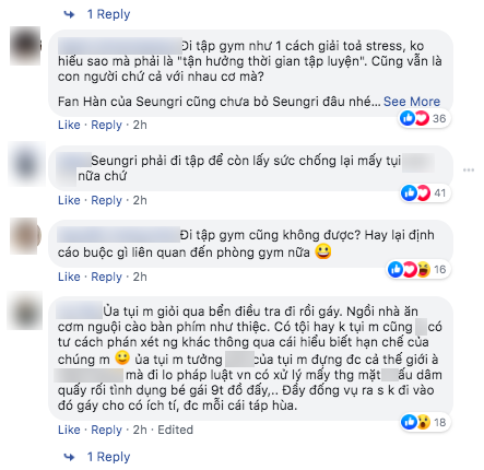 Nóng: Seungri vui vẻ đi tập gym sau khi tòa án hủy lệnh bắt, công chúng Hàn và quốc tế phẫn nộ, fan Việt vẫn bênh - Ảnh 11.