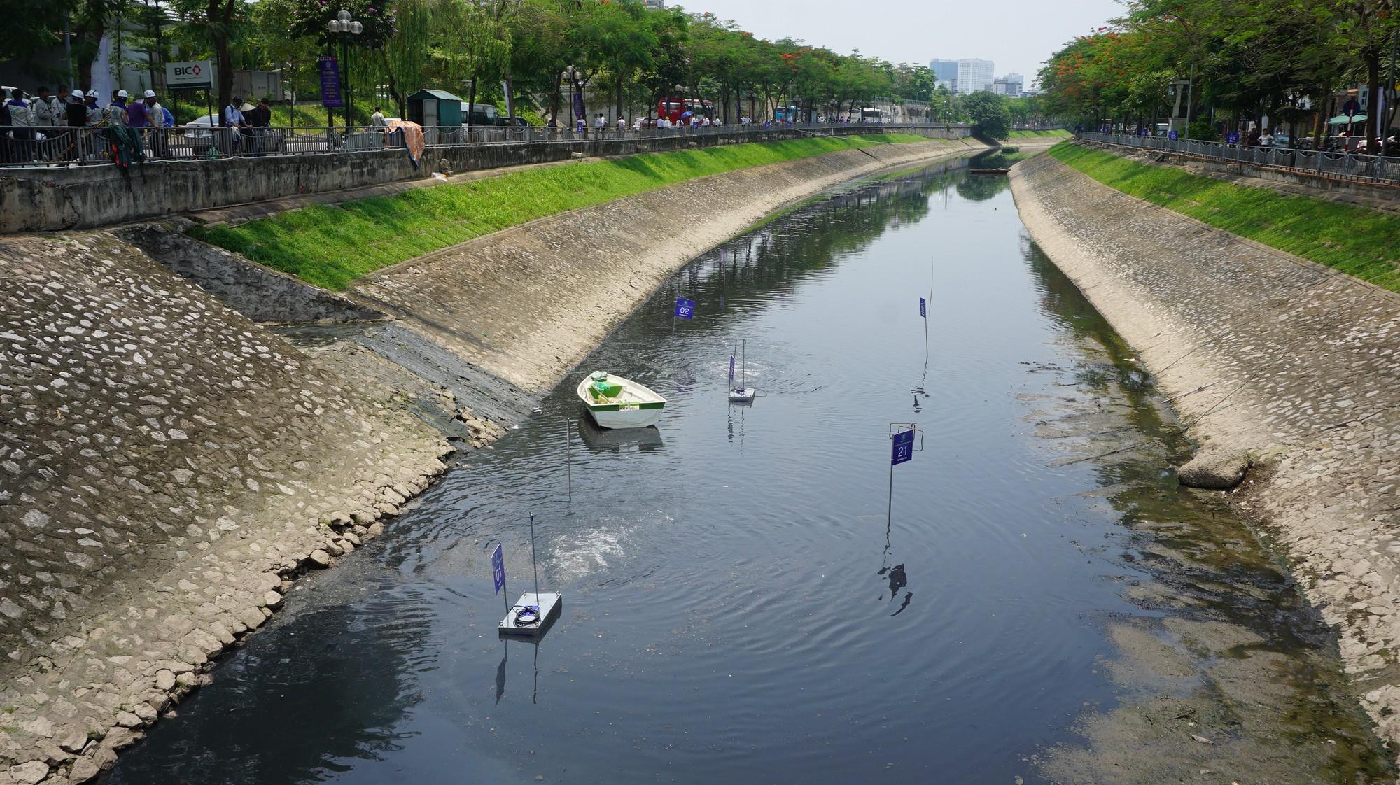 Khởi động dự án làm sạch sông Tô Lịch bằng công nghệ Nhật Bản - Ảnh 9.