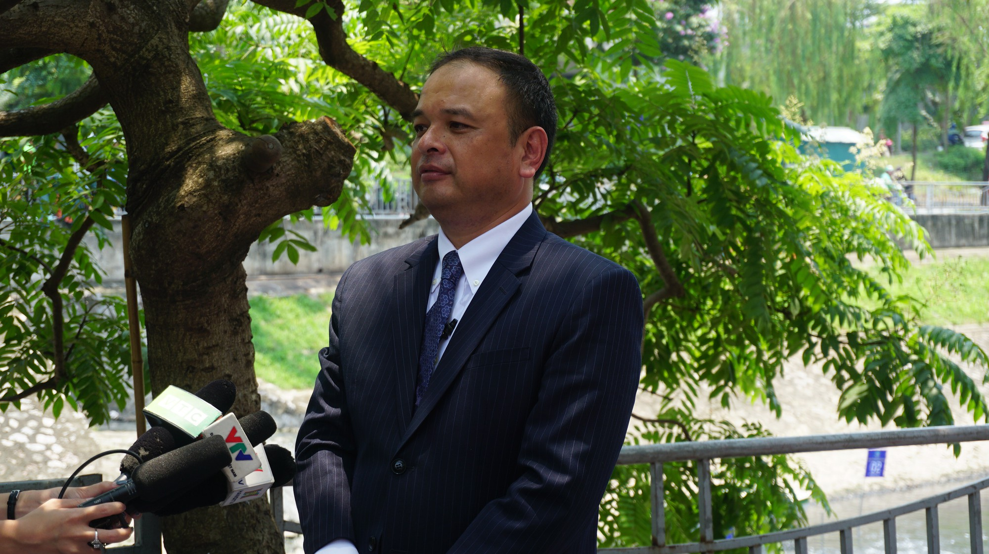 Khởi động dự án làm sạch sông Tô Lịch bằng công nghệ Nhật Bản - Ảnh 8.