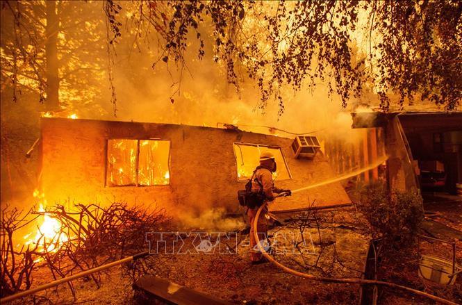 Cháy rừng kinh hoàng ở California năm 2018 là do sự cố đường dây truyền tải điện - Ảnh 1.