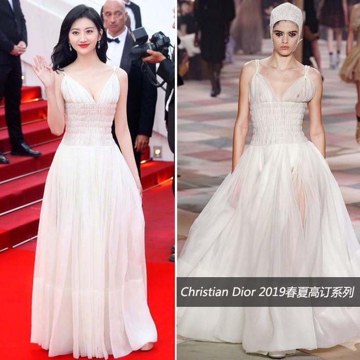 O ép cũng không mặc đẹp bằng ngực lép: Không tin bạn cứ nhìn Cảnh Điềm và tình cũ của G-Dragon tại LHP Cannes 2019 - Ảnh 7.