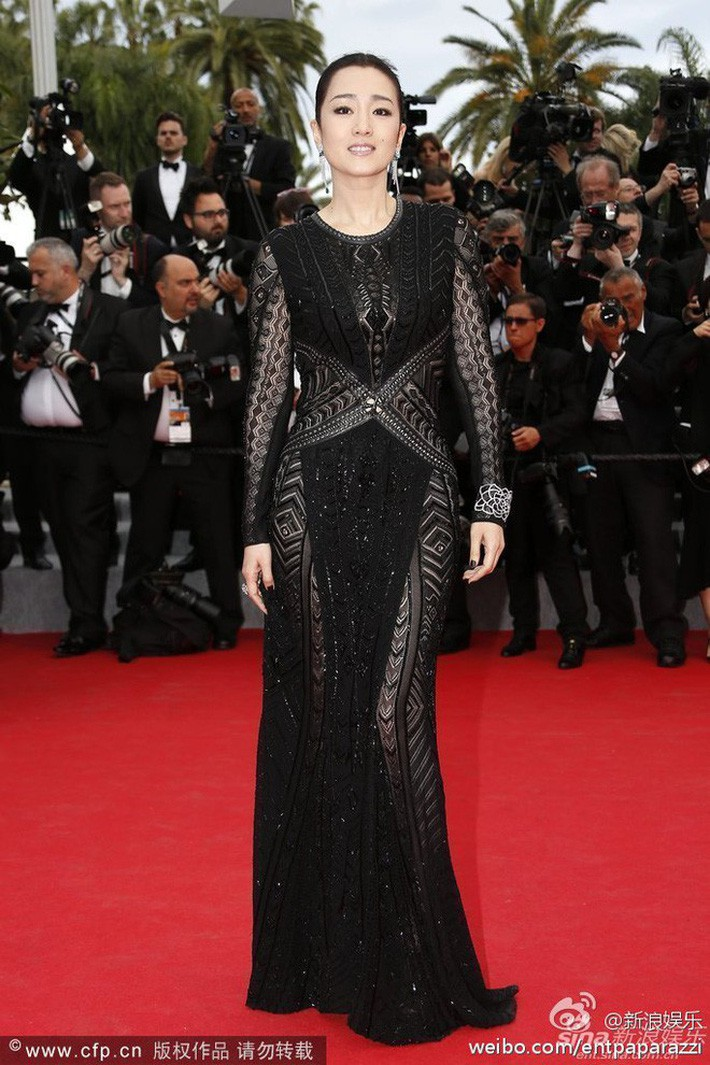 Trên thảm đỏ Cannes 2014,