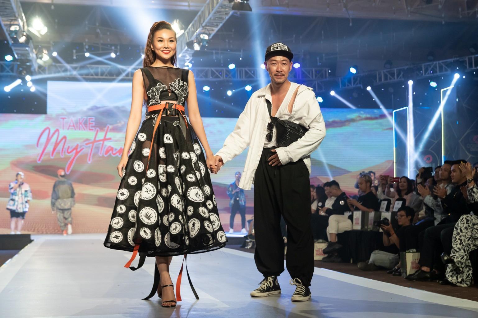 Dàn sao Việt đình đám quy tụ trong fashion show hoành tráng do Thanh Hằng làm vedette - Ảnh 10.