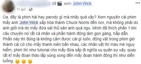 Khán giả chia phe tranh cãi về John Wick 3: Người khen đỉnh của đỉnh, kẻ chê vô lý bỏ xừ! - Ảnh 9.
