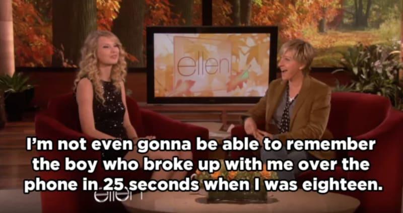 Taylor Swift bị ném đá không trượt phát nào khi nhắc lại cuộc gọi chia tay 27 giây của Joe Jonas - Ảnh 4.