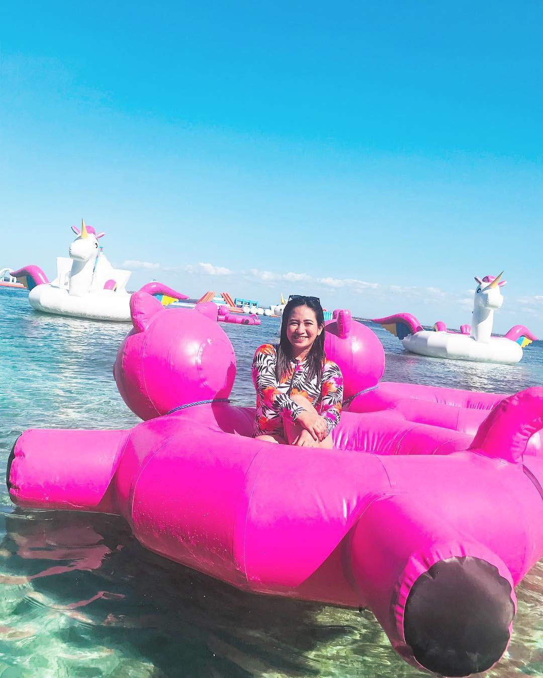 Ngất lịm với hàng trăm góc sống ảo xịn xò tại công viên phao nổi 7 sắc cầu vồng nổi tiếng nhất Philippines - Ảnh 13.