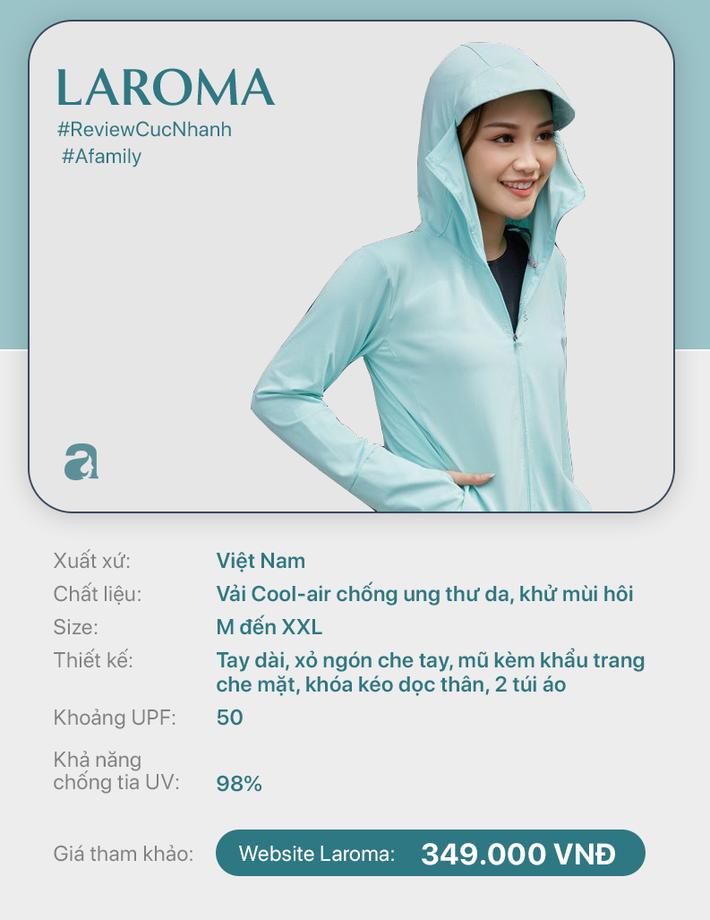 Review nhanh 10 mẫu áo chống nắng: Giá từ 350 đến cả triệu thì đều có khả năng ngăn tia UV ngang ngửa nhau - Ảnh 1.