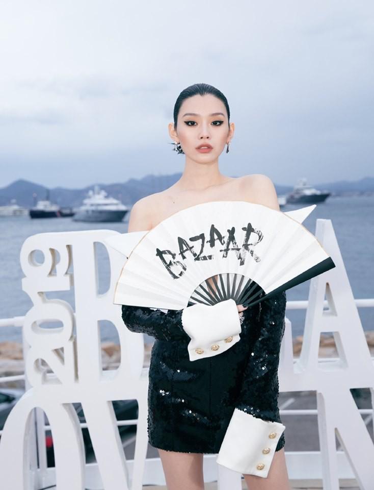 Sự kiện bên lề Cannes: Ming Xi - Sui He cạnh tranh sắc vóc khốc liệt, Lưu Đào - Quan Hiểu Đồng chẳng chịu lép vế - Ảnh 5.