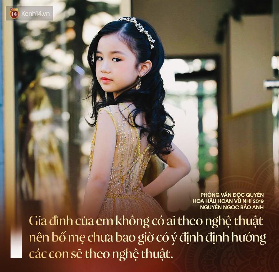 """""""Hoa hậu Hoàn vũ nhí 2019"""" Bảo Anh sau đăng quang: Cô Phạm Hương đã truyền cảm hứng để đi thi từ năm 3 tuổi - Ảnh 3."""