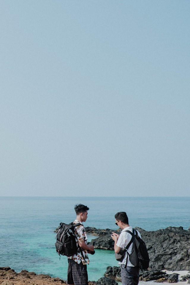 Cứ tưởng chụp ở nước ngoài, ai ngờ vùng biển trong vắt này lại nằm ngay ở Việt Nam mà lại còn rất dễ đi! - Ảnh 18.