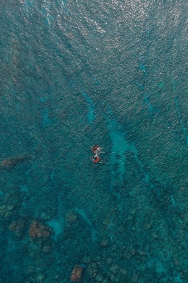 Cứ tưởng chụp ở nước ngoài, ai ngờ vùng biển trong vắt này lại nằm ngay ở Việt Nam mà lại còn rất dễ đi! - Ảnh 19.
