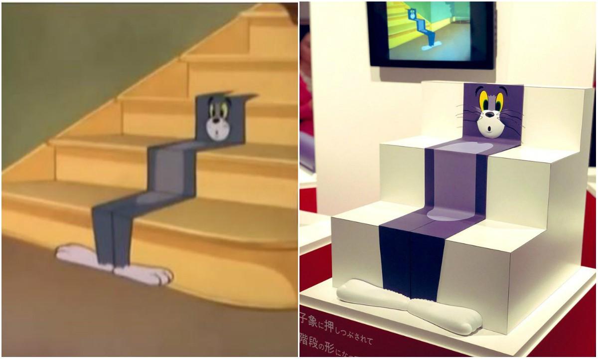 Bảo tàng Nhật Bản tưởng nhớ những pha bị troll của mèo Tom trong phim đang khiến cả cộng đồng mạng phát sốt - Ảnh 5.