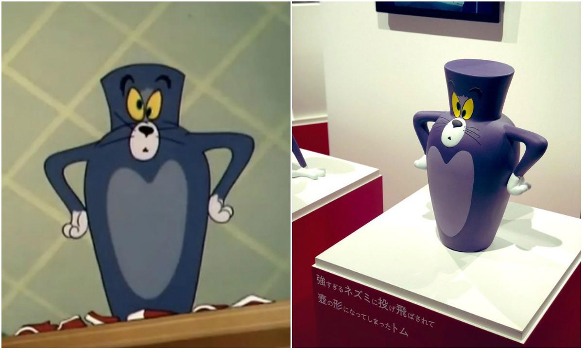 Bảo tàng Nhật Bản tưởng nhớ những pha bị troll của mèo Tom trong phim đang khiến cả cộng đồng mạng phát sốt - Ảnh 4.