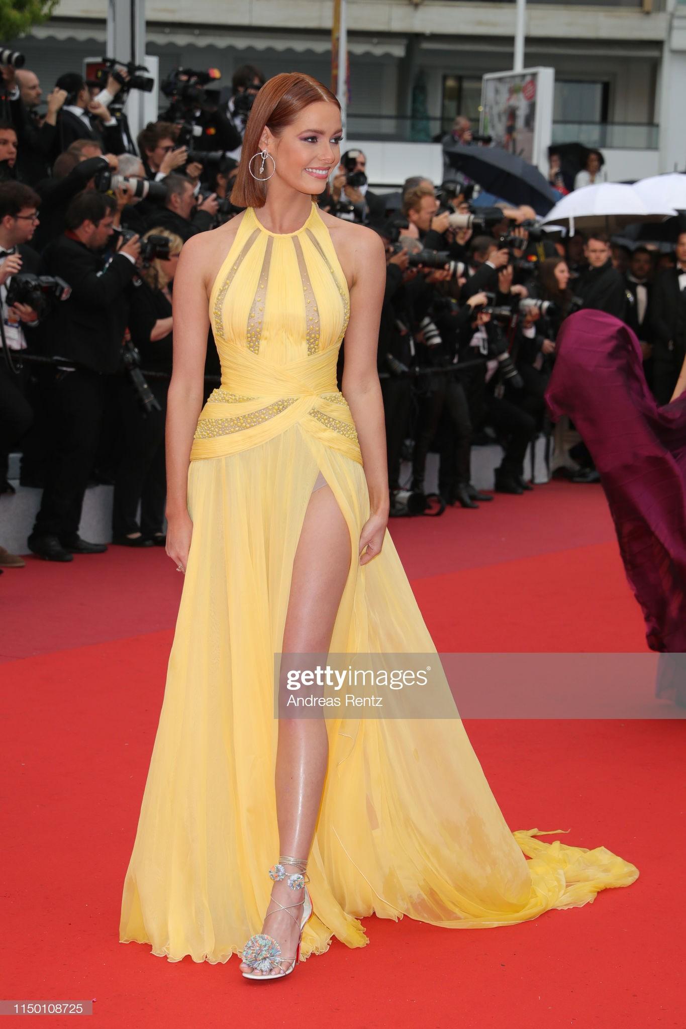 Thảm đỏ Cannes nhường spotlight cho Nick Jonas cung phụng Hoa hậu, Sui He gây sốc như không mặc gì - Ảnh 32.