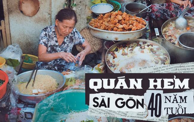 Quán ăn nhỏ hơn 40 năm tuổi góp phần làm nên văn hóa ẩm thực hẻm Sài Gòn: 7 ngày bán 7 món khác nhau, tuyệt hảo nhất chính là món chay - Ảnh 1.