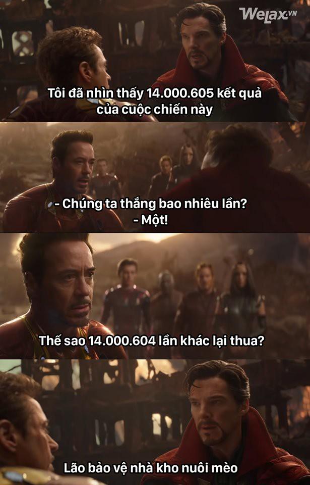 Bảo sao Avengers: Endgame mãi không hết hot khi cư dân mạng cứ chế ra meme đủ kiểu xoay quanh bộ phim này - Ảnh 1.