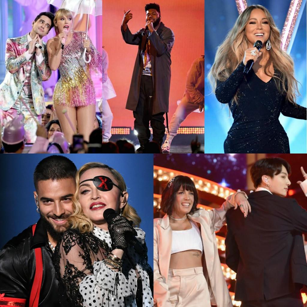 11 màn trình diễn xuất sắc nhất tại BBMAs 2019: Taylor Swift văng khỏi top 5, xếp sau BTS - Ảnh 1.