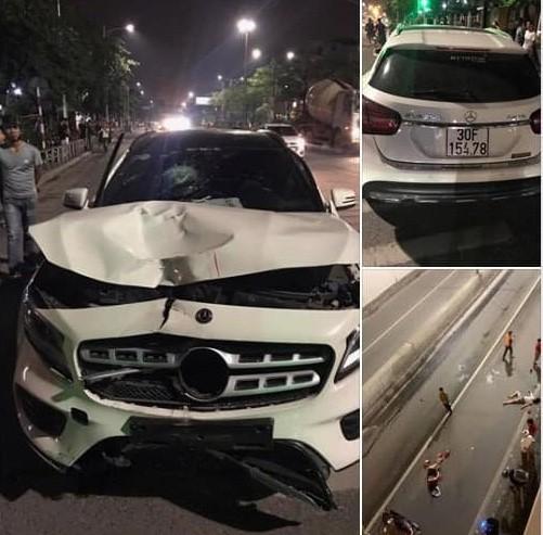 Tài xế Mercedes gây tai nạn ở hầm Kim Liên hoảng sợ khi biết tin 2 người chết - Ảnh 1.