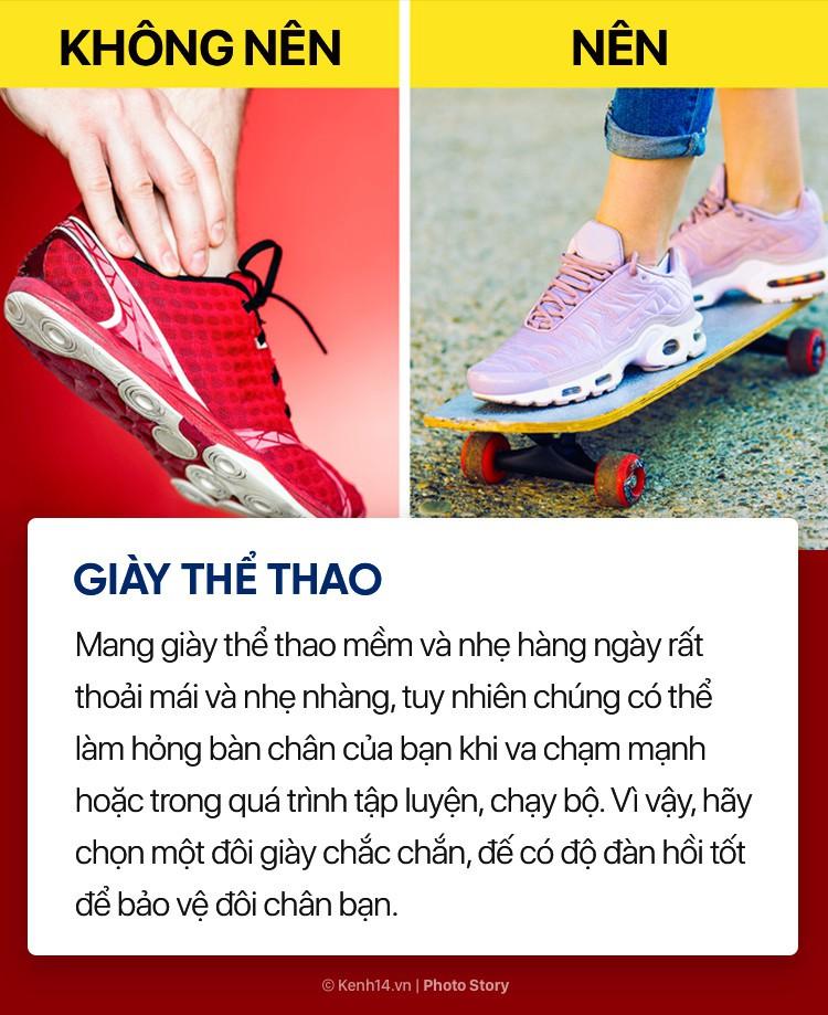 Hóa ra những đôi giày, dép thân quen này lại ảnh hưởng nhiều đến sức khỏe bạn đến vậy - Ảnh 3.