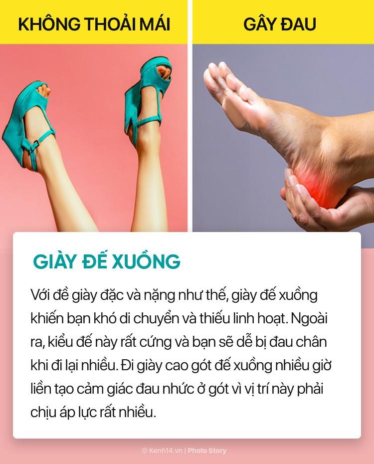 Hóa ra những đôi giày, dép thân quen này lại ảnh hưởng nhiều đến sức khỏe bạn đến vậy - Ảnh 6.