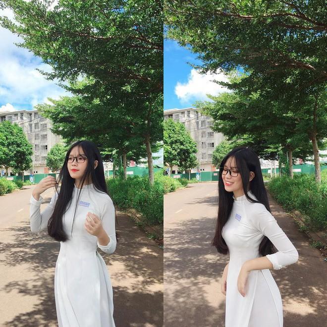 Mặc áo dài vẫn ngút ngàn thần thái, hội gái xinh liên tục khiến dân mạng Việt liêu xiêu, báo Trung thì hết lời ca ngợi - Ảnh 16.