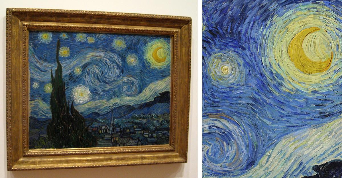 Bức họa nổi tiếng Starry Night của Vincent van Gogh có một bí ẩn cực khó mà nhân loại vẫn chưa thể hiểu cặn kẽ - Ảnh 1.