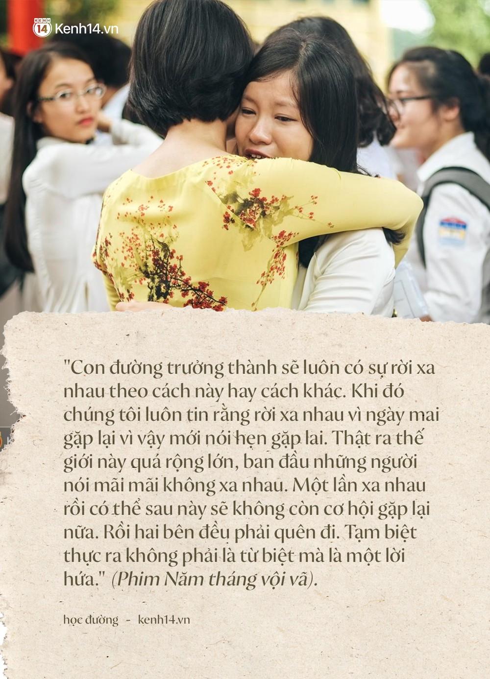 Tại sao học sinh lớp 12 khóc như mưa trong ngày bế giảng nhưng vài năm sau họp lớp không ai đi? - Ảnh 5.