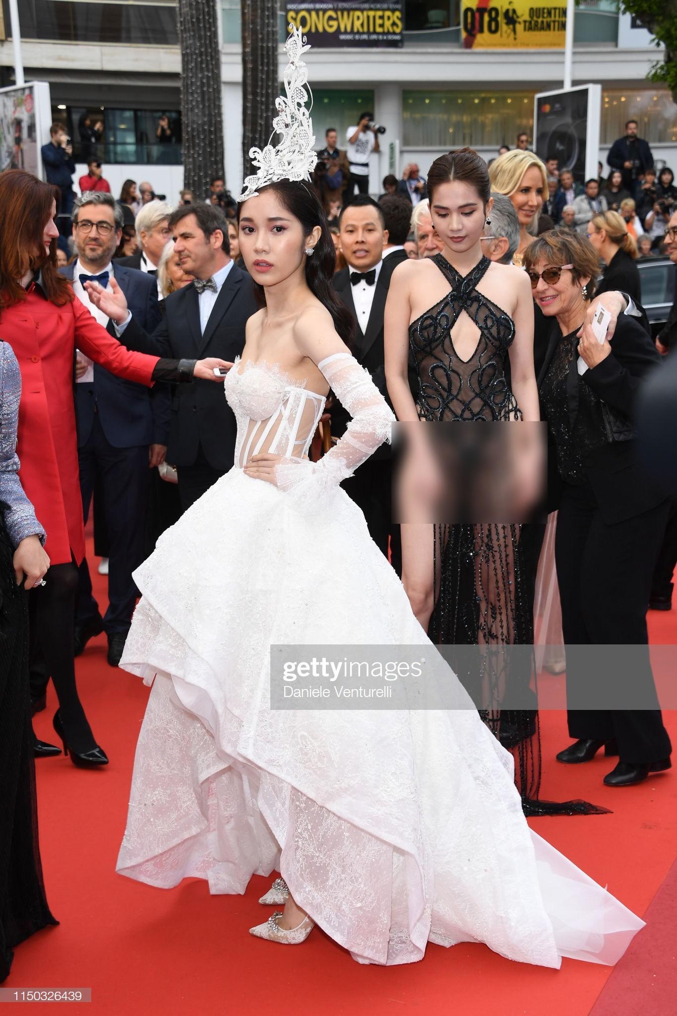 Thêm mỹ nhân Việt xuất hiện tại Cannes: Ăn mặc diêm dúa, cố tình chơi trội, hoá ra là người quen của Ngọc Trinh - Ảnh 5.