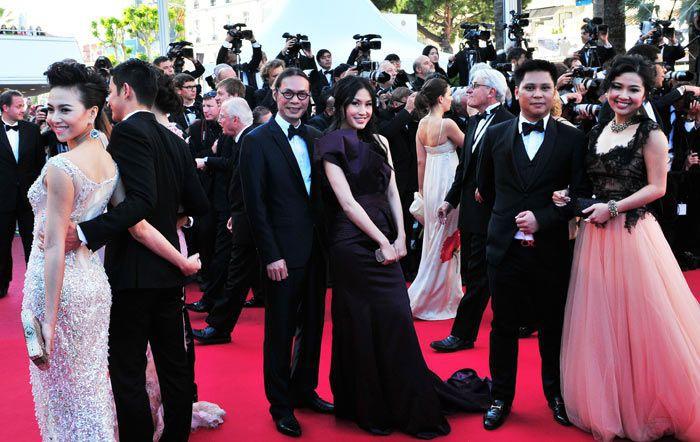 Sao Việt đến Cannes qua các mùa: Người vinh dự có tác phẩm, kẻ tơ hơ không ai biết xuất hiện để làm gì - Ảnh 10.