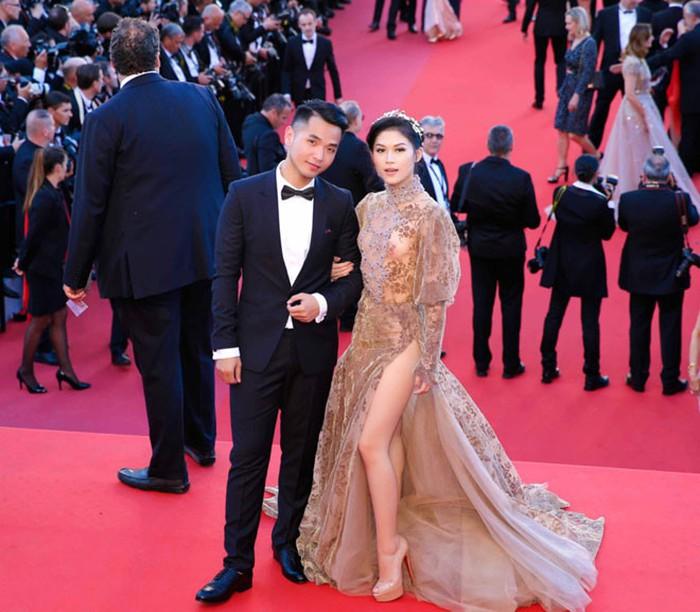 Sao Việt đến Cannes qua các mùa: Người vinh dự có tác phẩm, kẻ tơ hơ không ai biết xuất hiện để làm gì - Ảnh 27.