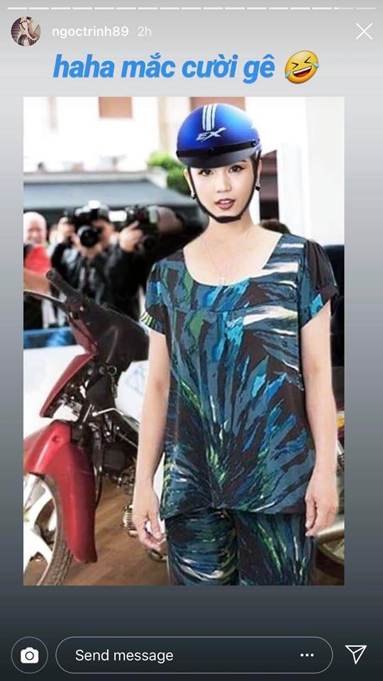 Ngọc Trinh lầy hội tự đăng loạt ảnh dân mạng quây váy, đội nón bảo hiểm che chắn kỹ càng cho mình trên thảm đỏ Cannes - Ảnh 5.