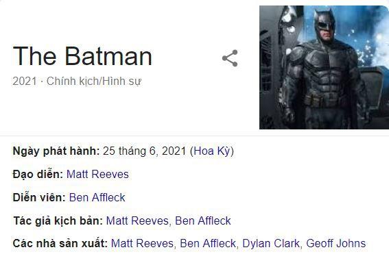 Rộ tin đồn Ben Affleck sẽ đạo diễn phim BATMAN thay Matt Reeves - Ảnh 2.