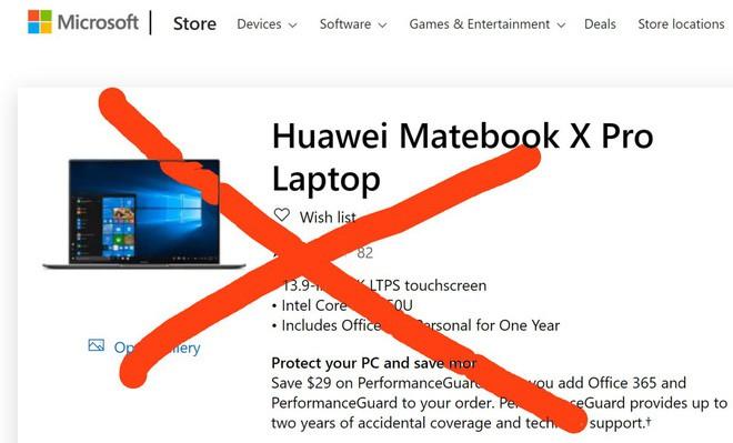 Hết bị Google nghỉ chơi, Huawei lại đang trên bờ vực tẩy chay khỏi cửa hàng Microsoft - Ảnh 1.