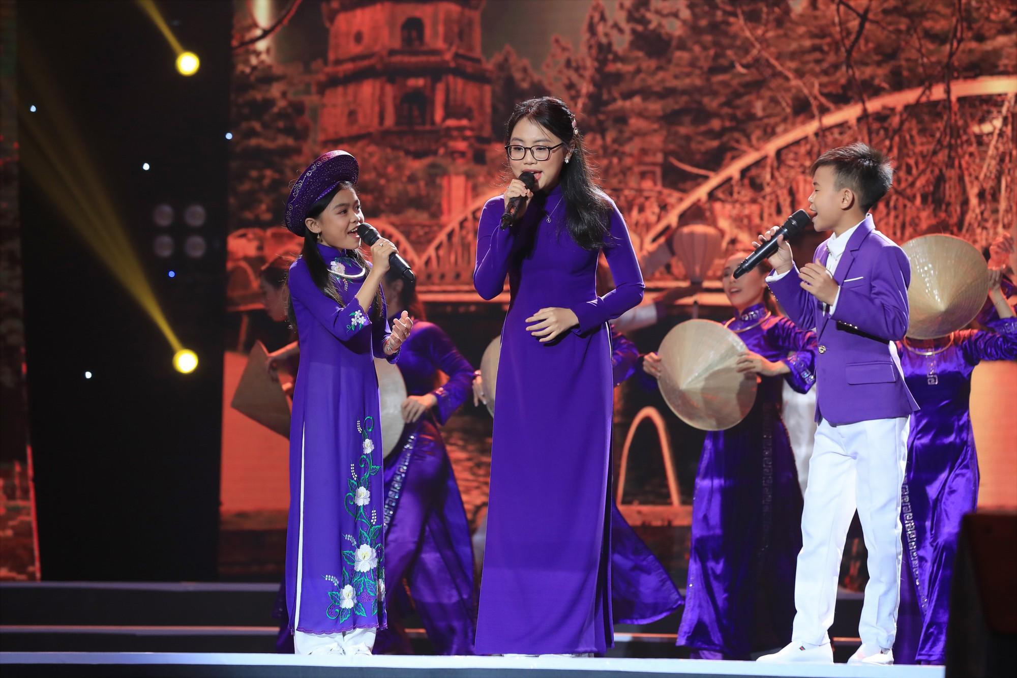 Tuyệt đỉnh song ca nhí 2019 kết thúc với chiến thắng của đội Hồ Việt Trung - Diệu Nhi - Ảnh 8.