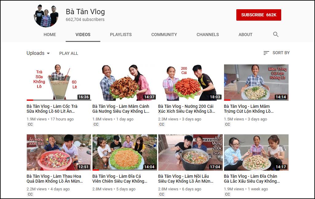 Bà Tân Vlog kiếm 12.000 USD/tháng trên YouTube: Lời đồn có thật hay chỉ chém gió? - Ảnh 1.