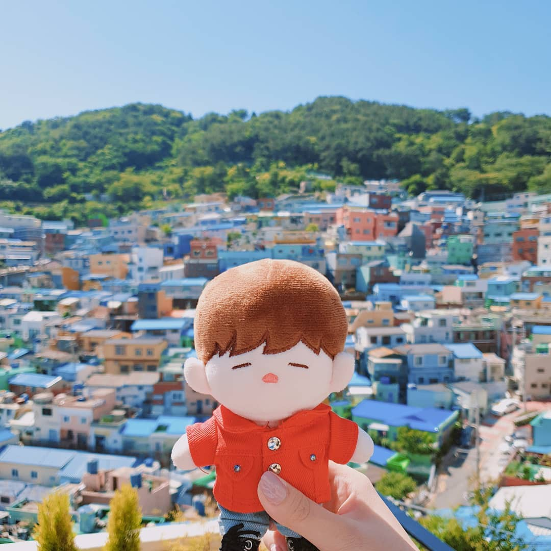 Làng cổ Gamcheon: Từ một khu ổ chuột trở thành Santorini của Hàn Quốc - Ảnh 2.