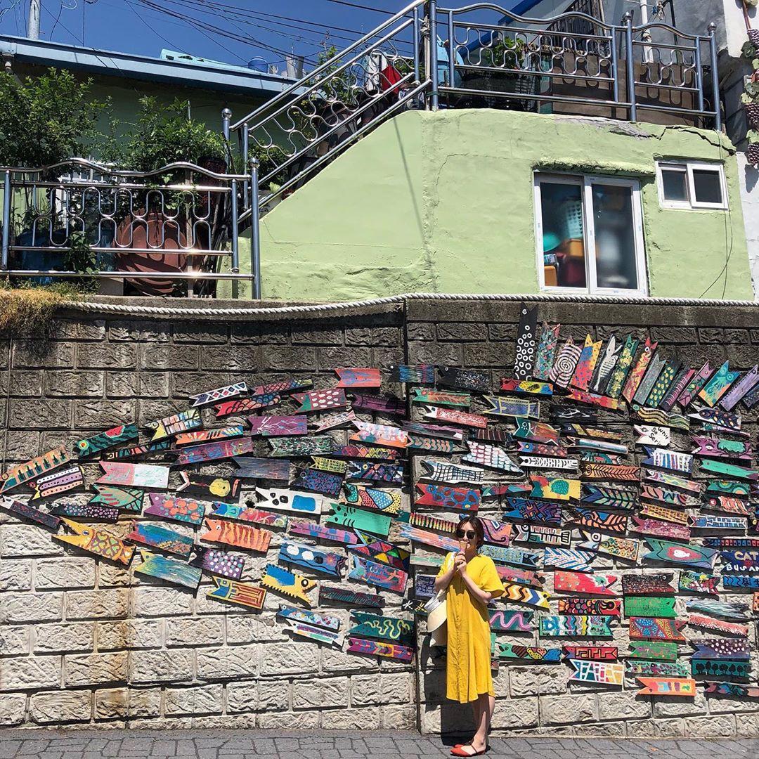 Làng cổ Gamcheon: Từ một khu ổ chuột trở thành Santorini của Hàn Quốc - Ảnh 4.