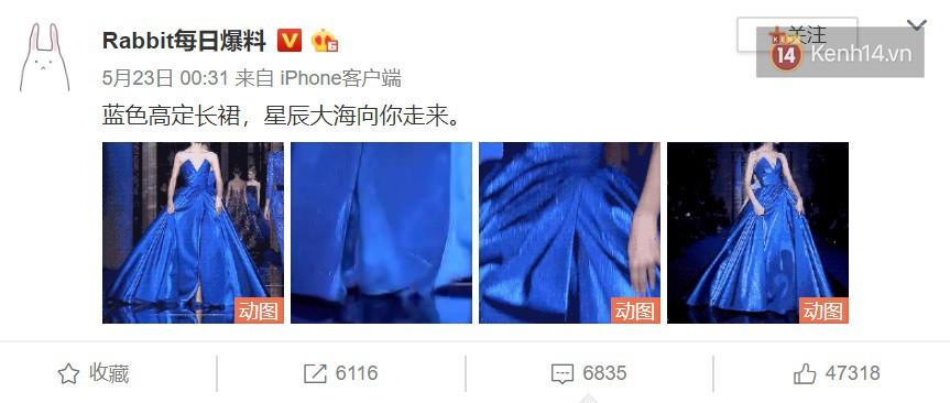 """Chiếc đầm công chúa đẹp mê mẩn khiến cả Weibo sôi sục, netizen xôn xao về danh tính minh tinh có """"diễm phúc"""" được diện - Ảnh 5."""