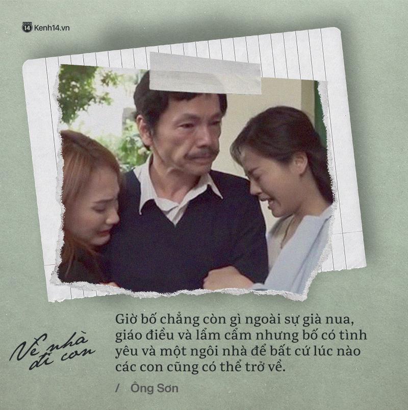 Không chỉ là bộ phim quốc dân, Về nhà đi con còn cho chúng ta những bài học vô giá về tình cảm gia đình - Ảnh 5.