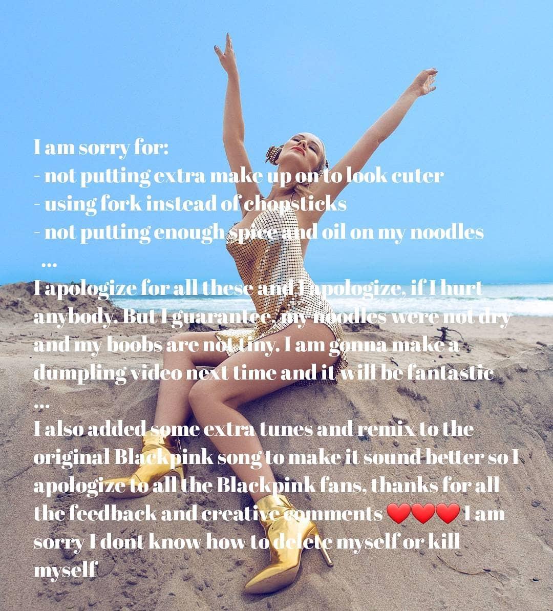 Nữ DJ người Mỹ bị khủng bố vì cố tình tạo dáng mắt kỳ thị Jennie (BLACKPINK) và lời xin lỗi còn gây phẫn nộ hơn - Ảnh 4.