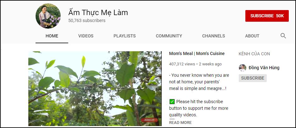 Điểm sáng khác biệt so với Bà Tân Vlog: Kênh YouTube nhà làm được cả VTV, VTC phỏng vấn dù mới 50.000 sub - Ảnh 1.