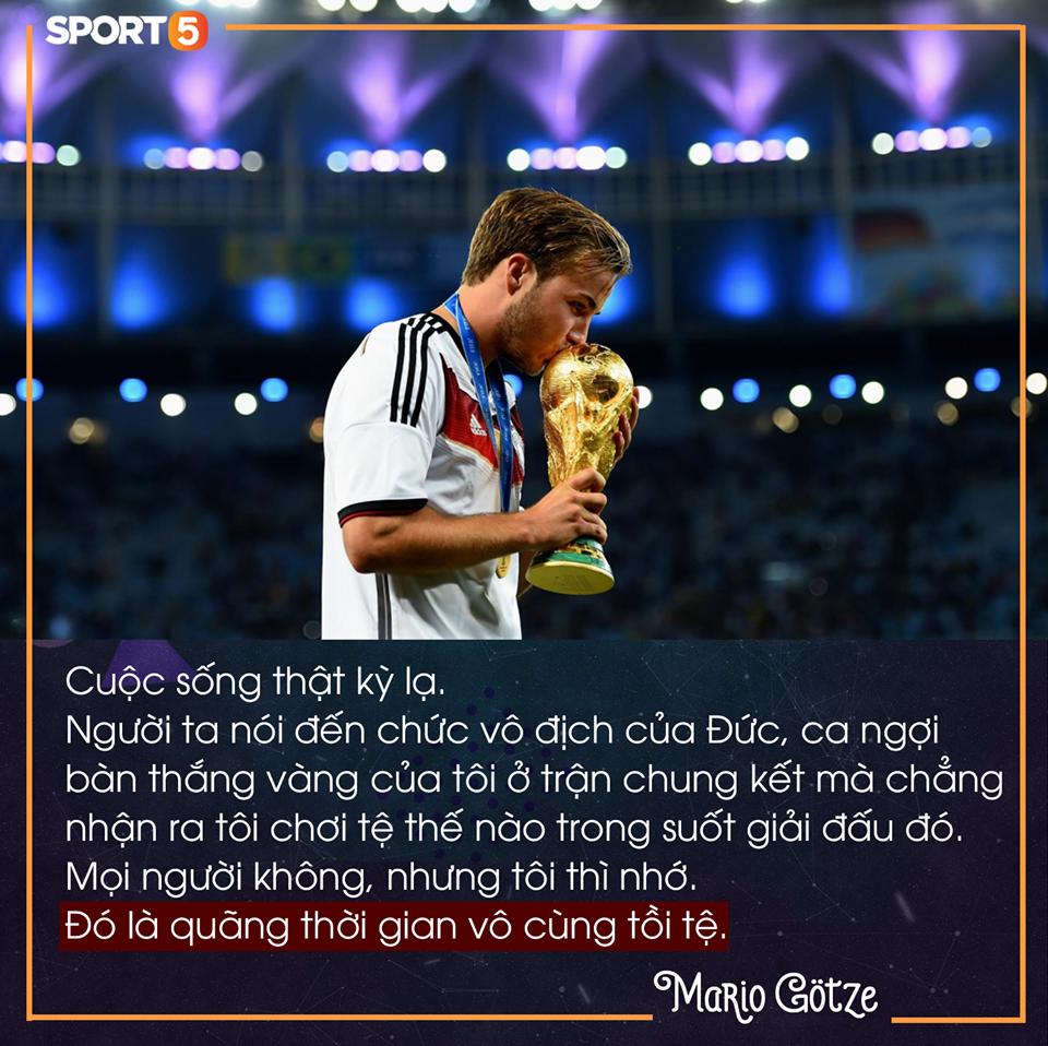 Nhật ký của người ghi bàn mang cúp vàng World Cup về nước Đức (kỳ 2): Từ kẻ phản bội đến người hùng đội tuyển quốc gia - Ảnh 3.