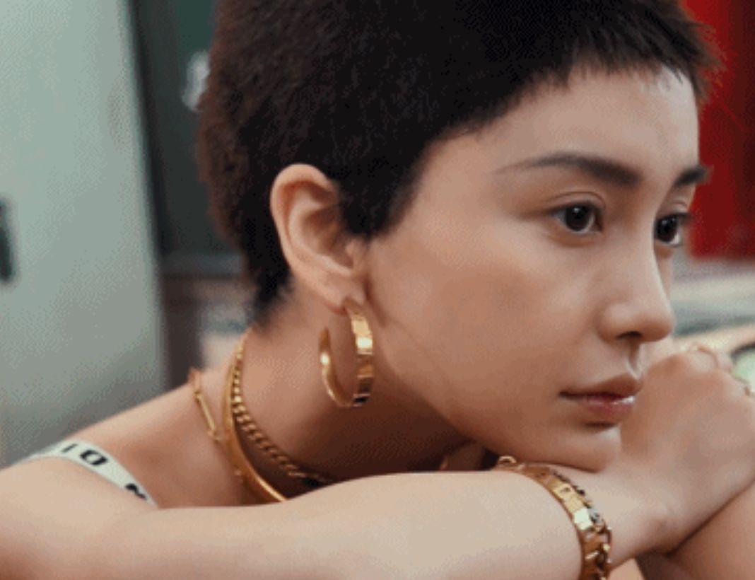 Minh tinh Cbiz và thử thách tóc siêu ngắn: Địch Lệ Nhiệt Ba xuống sắc, Châu Đông Vũ nhận mưa lời trầm trồ - Ảnh 5.